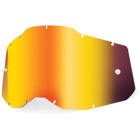 100% Anti-Fog Replacement Lenses Gen2 Youth, rojo